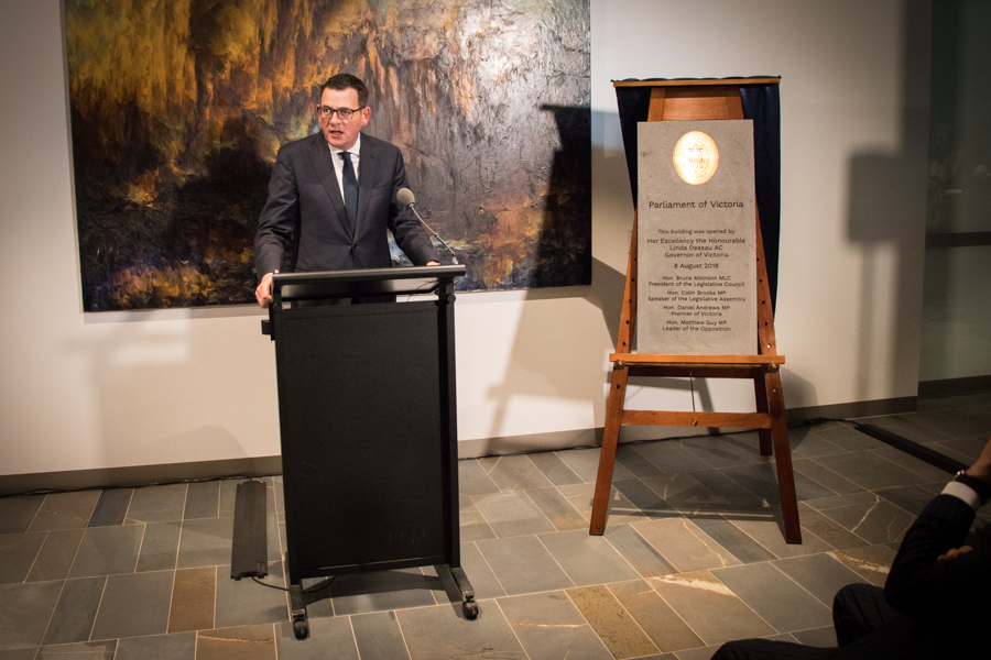 Official opening of the new Parliament House Annexe