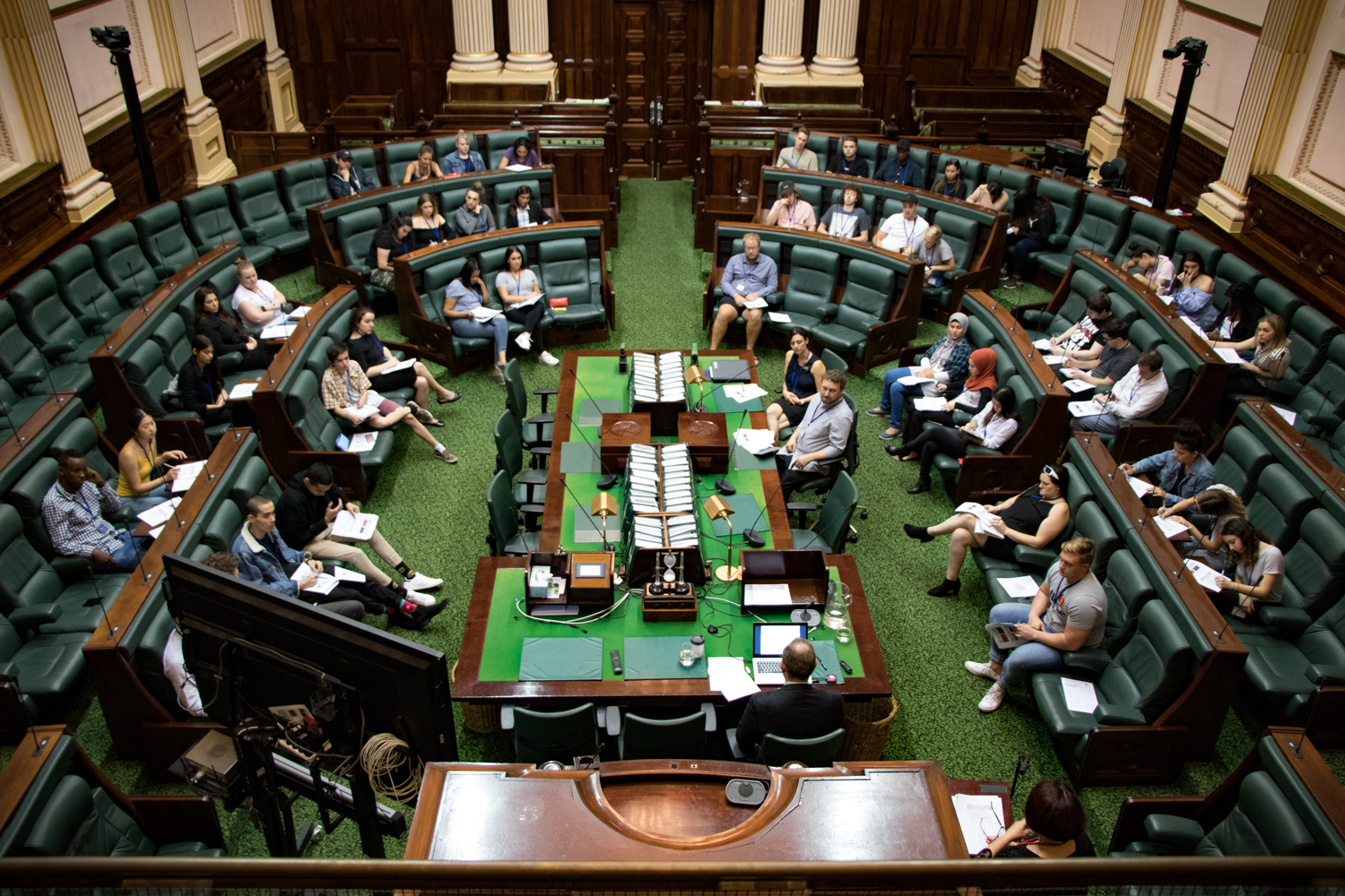 Parliament Explained - Victoria University lecture in the Legislative Assembly