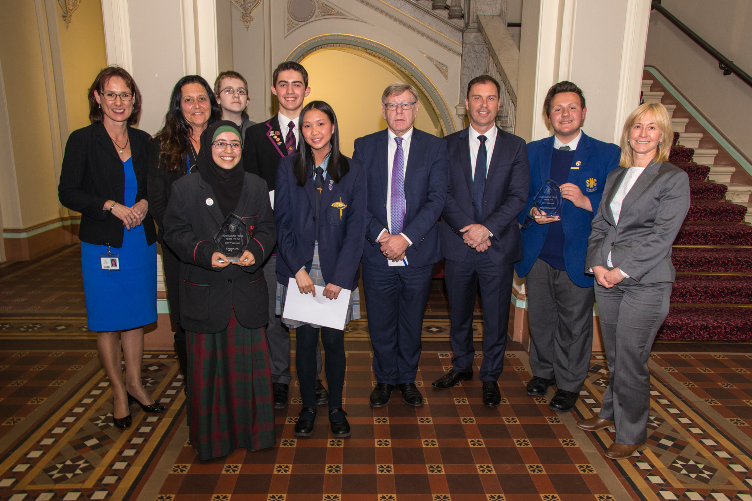 Parliament Prize Winners 2017