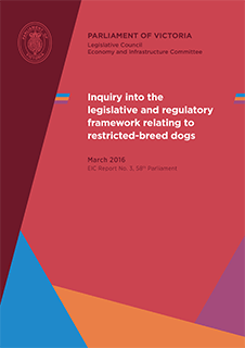 Inquiry into the legislative and regulatory framework relating to