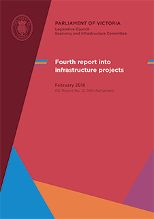 Inquiry into Infrastructure Projects - Fourth Report cover