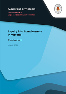 LC LSIC 59 06 Homelessness Final Report Cover