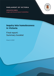 LC LSIC 59 06 Homelessness Summary booklet Cover