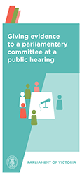 Committee Brochure public hearing cover