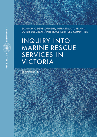Inquiry into Marine Rescue in Victoria