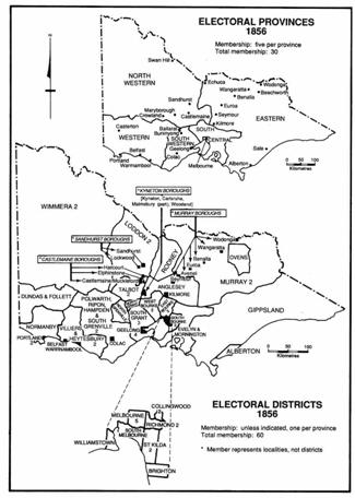 Electoral Provinces Diagram 1856