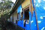 Chook house demolition