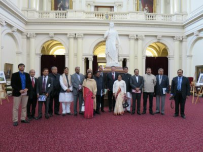 Indian delegation at Parliament