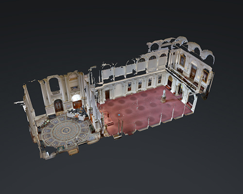 Virtual Tours - Queen's Hall